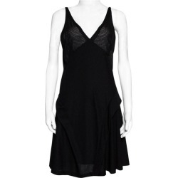Balenciaga Black Knit Perforated Detail Sleeveless Dress L found on Bargain Bro Philippines from 1stDibs for $700.00