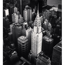 Michael Kenna, Chrysler Building, Study 4, New York, New York, USA, 2010 found on Bargain Bro Philippines from 1stDibs for $3000.00
