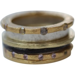 Diamond Sapphire 18k 22k Gold Sterling Silver Wedding Engagement Band Ring #2 found on Bargain Bro India from 1stDibs for $5200.00