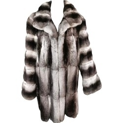 John Galliano Chinchilla Fur Coat (size 16) found on MODAPINS from 1stDibs for USD $8000.00