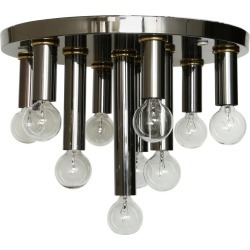 Mid-century Modern Flush Mount found on Bargain Bro Philippines from 1stDibs for $2700.00