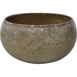 Kh W�rtz Cauldron Shaped Bowl Sandstone Glaze
