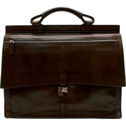 Berluti Brown Leather Men�s Briefcase found on MODAPINS from 1stDibs for USD $1583.68