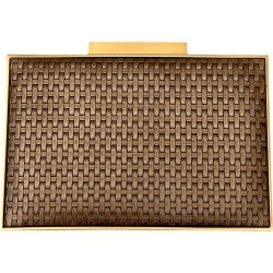 Elie Saab Leather Weave Clutch found on MODAPINS from 1stDibs for USD $608.36