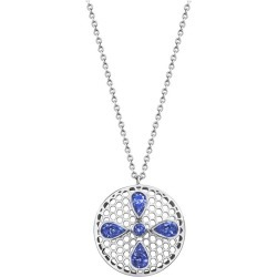 Handcrafted Tanzanites And 18 Karat White Gold Pendant Necklace found on Bargain Bro Philippines from 1stDibs for $2379.79