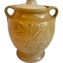 Pottery Cookie Jar found on Bargain Bro India from 1stDibs for $125.00