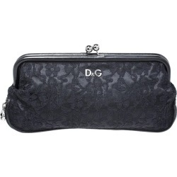 Dolce & Gabbana Black Lace Kiss Lock Clutch found on Bargain Bro India from 1stDibs for $353.00