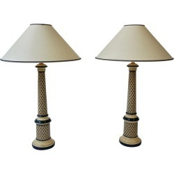 Column Table Lamps