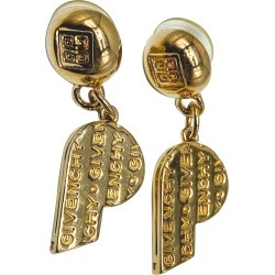 Givenchy Earrings Vintage 1980s found on Bargain Bro from 1stDibs for USD $274.42