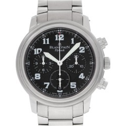 Blancpain Flyback Chrono 2185f-1130-71 Stainless Steel Auto Watch found on MODAPINS from 1stDibs for USD $9375.00