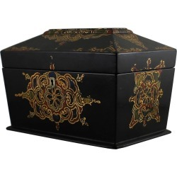 Jennens & Bettridge Papier M�ch� Tea Caddy found on Bargain Bro India from 1stDibs for $1750.00