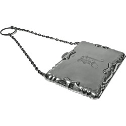 Antique Silver Card Case Aide Memoire Purse Birmingham 1908 William Haseler found on Bargain Bro India from 1stDibs for $495.00