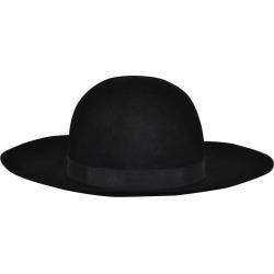Yves Saint Laurent Black Wool Felt Wide Brim Hat found on Bargain Bro from 1stDibs for USD $976.60
