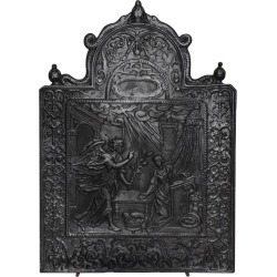 17th C. Antique Fireback Annunciation To The Blessed Virgin Mary found on Bargain Bro Philippines from 1stDibs for $4500.00