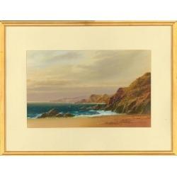John Shapland, John Shapland (1865-1929) - Signed Gouache, Cornish Coastal Landscape, Unknown found on Bargain Bro India from 1stDibs for $319.00