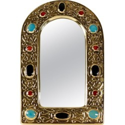 jewel Mirror In Gilded Enameled Ceramic Dating From The 1960s By Fran�ois Lemb found on Bargain Bro Philippines from 1stDibs for $2408.42