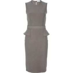Givenchy Textured Wool-blend Peplum Dress found on Bargain Bro India from 1stDibs for $832.77