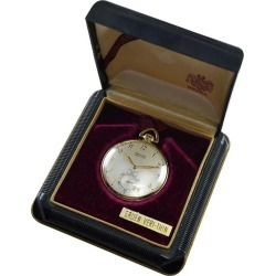 Gruen Watch Company Open Faced Pocket Watch Circa 1930s With Original Box found on MODAPINS from 1stDibs for USD $1300.00