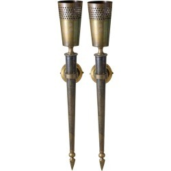 Pair Of Torches/sconces In Oriental Style, Circa 1950 found on Bargain Bro Philippines from 1stDibs for $1926.74