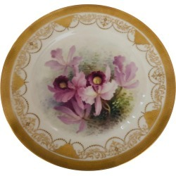Set Of Twelve Exceptional Lenox Orchid Dinner Plates Artist Signed W. H. Morley found on Bargain Bro Philippines from 1stDibs for $5900.00