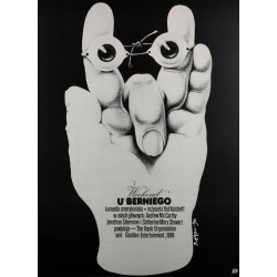 Weekend At Bernie's 1990 Polish Film Poster, Jakub Erol found on Bargain Bro Philippines from 1stDibs for $300.41