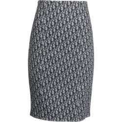 Christian Dior By John Galliano Dior Oblique Pencil Skirt found on MODAPINS from 1stDibs for USD $850.00