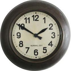 Industrial Factory Wall Clock By Normal-zeit 'tn' found on Bargain Bro India from 1stDibs for $998.00