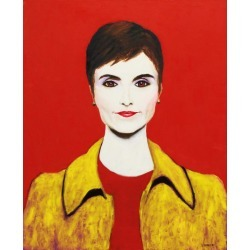 Norman Lerner, Catherine, Painting, Oil on Canvas, 2014 found on Bargain Bro Philippines from 1stDibs for $700.00