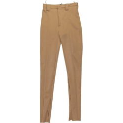 Balenciaga Gold Stretch-crepe Skinny Pants found on Bargain Bro Philippines from 1stDibs for $205.00
