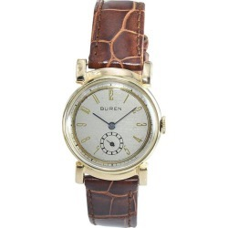 Buren Watch Company 14 Karat Solid Gold Art Deco Watch, Circa 1930s found on MODAPINS from 1stDibs for USD $1800.00