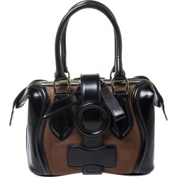 Balenciaga Black/brown Patent Leather And Suede Sac Superb Bag found on Bargain Bro Philippines from 1stDibs for $1106.00