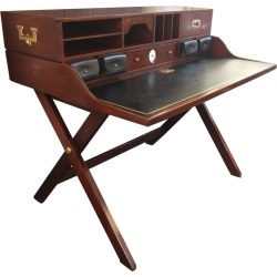 Early Vintage Ralph Lauren Campaign Desk found on Bargain Bro from 1stDibs for USD $5,168.00