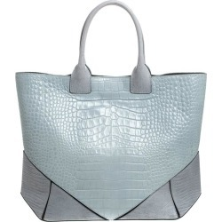 Givenchy Grey Croc Embossed Leather Easy Tote found on Bargain Bro India from 1stDibs for $662.00