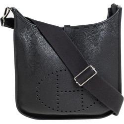 Hermes Prunoir Clemence Leather Evelyne Iii Pm Bag