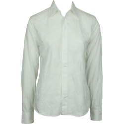 Ralph Lauren Bl White Collared Shirt W/ Paisley Embroidery - 4 found on Bargain Bro from 1stDibs for USD $114.00