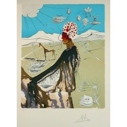 Salvador Dal�, The Earth Goddess (The Chef), 1980 found on Bargain Bro from 1stDibs for USD $4,617.00