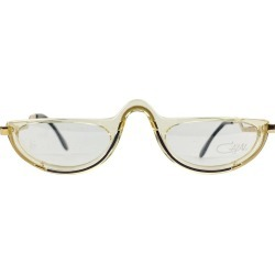 Cazal Vintage Eyeglasses 641 Clear Black 51/27 140 Mm West Germany found on MODAPINS from 1stDibs for USD $366.33
