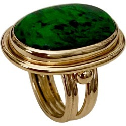 Michael Kneebone Maw Sit Sit Jade Archaic Style Ring found on Bargain Bro Philippines from 1stDibs for $4800.00