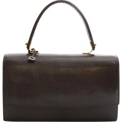 Delvaux Vintage Brown Lizard Bag found on MODAPINS from 1stDibs for USD $933.07