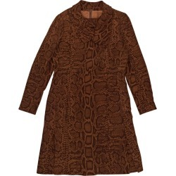 Givenchy Brown Haute Couture Printed Dress found on Bargain Bro from 1stDibs for USD $854.24