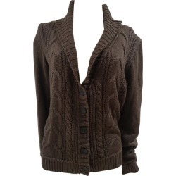 Esprit Brown Wool Sweater / Cardigan found on MODAPINS from 1stDibs for USD $109.03