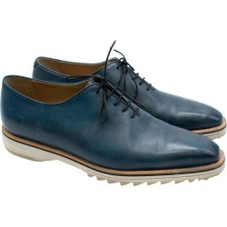 Berluti Antique Brown Fast Track Leather Lace-ups 43.5 found on MODAPINS from 1stDibs for USD $619.52