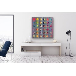 Mirtha Moreno, Abstract Acrylic Painting on Panel, 2019 found on Bargain Bro Philippines from 1stDibs for $3600.00