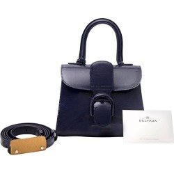 Delvaux Brillant Mini Vernis Indigo Blue found on MODAPINS from 1stDibs for USD $5793.56