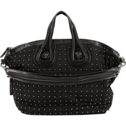 Givenchy Nightingale Satchel Studded Nylon Medium found on Bargain Bro from 1stDibs for USD $406.60