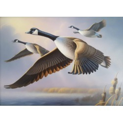 Ron Louque, Canada Geese, 2010 found on Bargain Bro Philippines from 1stDibs for $3500.00