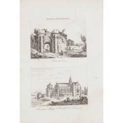 Unknown, Porte de Sens - Original Lithograph - 19th Century, 19th Century found on Bargain Bro Philippines from 1stDibs for $240.84
