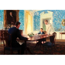 Tom Lovell, The Dining Room, 1955 found on Bargain Bro India from 1stDibs for $32000.00