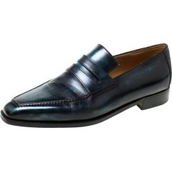 Berluti Black Leather Penny Loafers Size 42.5 found on MODAPINS from 1stDibs for USD $1085.00