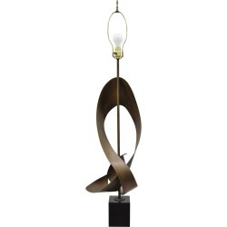 Large Brutalist Harry Balmer Mid-century Modern Ribbon Lamp For Laurel found on Bargain Bro Philippines from 1stDibs for $1800.00
